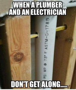 Electrician Vs Plumber